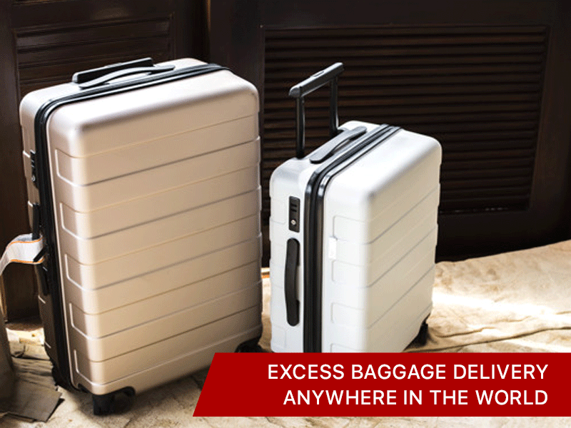 EXCESS BAGGAGE DELIVERY ANYWHERE IN THE WORLD